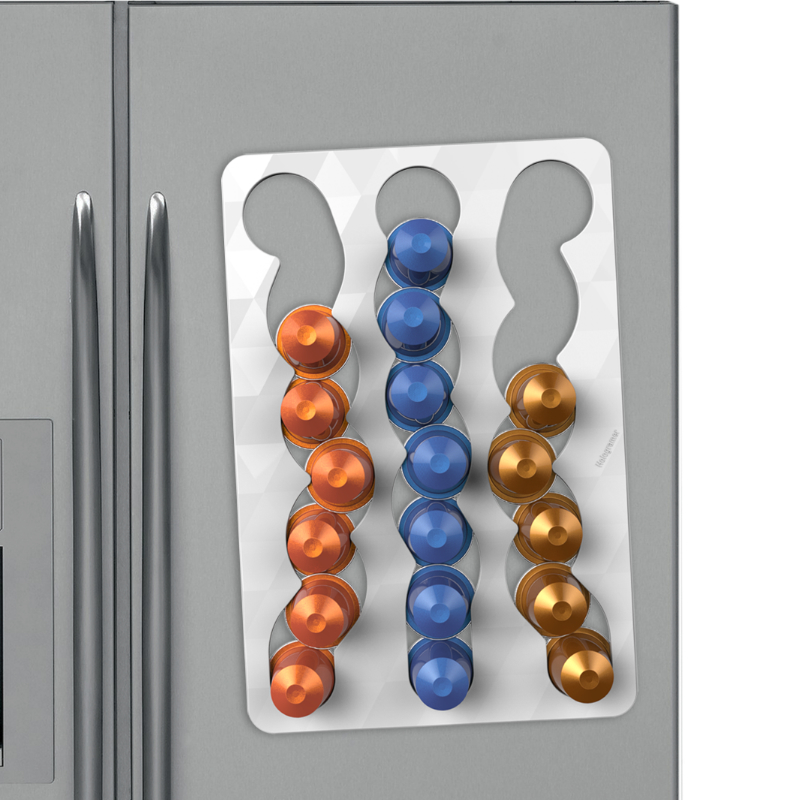 Nespresso Capsule Slide on Fridge